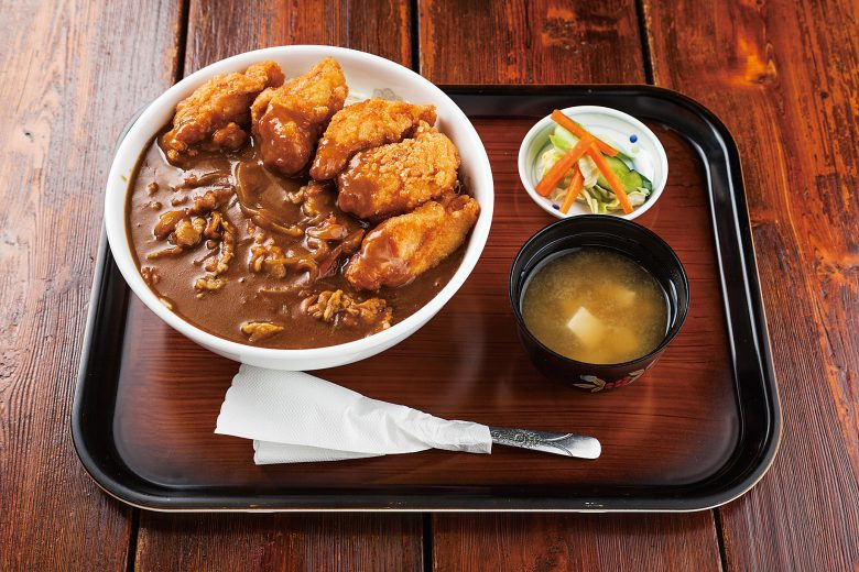 Curry Donburi with Fried chicken