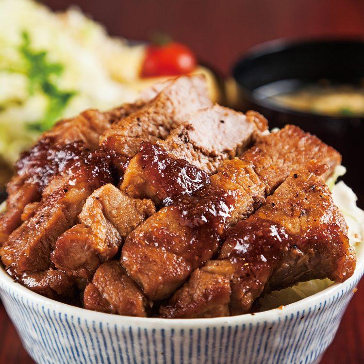 Muikamachi Pork steak Donbu…