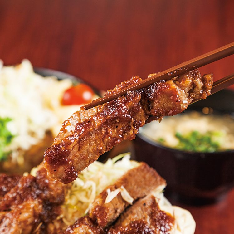 Muikamachi Pork steak Donburi
