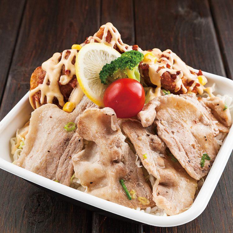 マヨからスタミナ豚塩カルビ丼