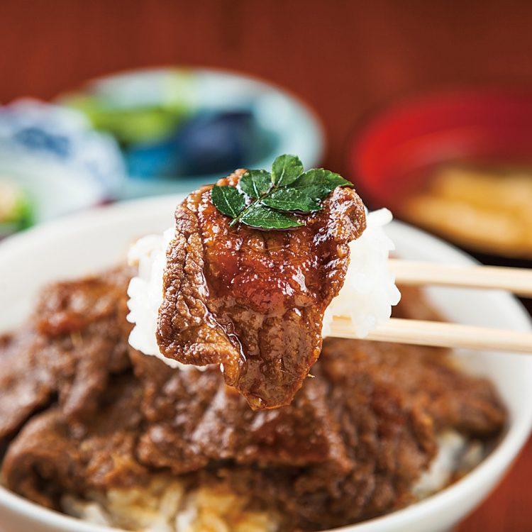 【2018】割烹ひやま特製!にいがた和牛上カルビ丼