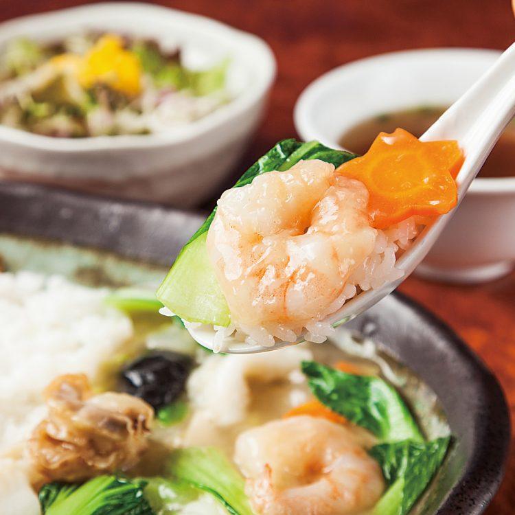 【2018】麻婆・海鮮二色中華丼