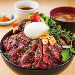 Special steak Donburi