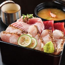 Seafood(Sashimi) Don with B…