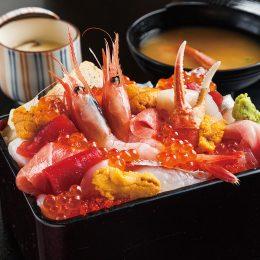 [:ja]極上贅沢海鮮重[:en]Seafood(Sashimi) Don[:]