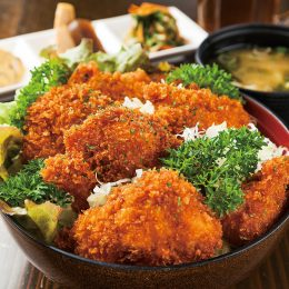 Chicken cutlet Donburi