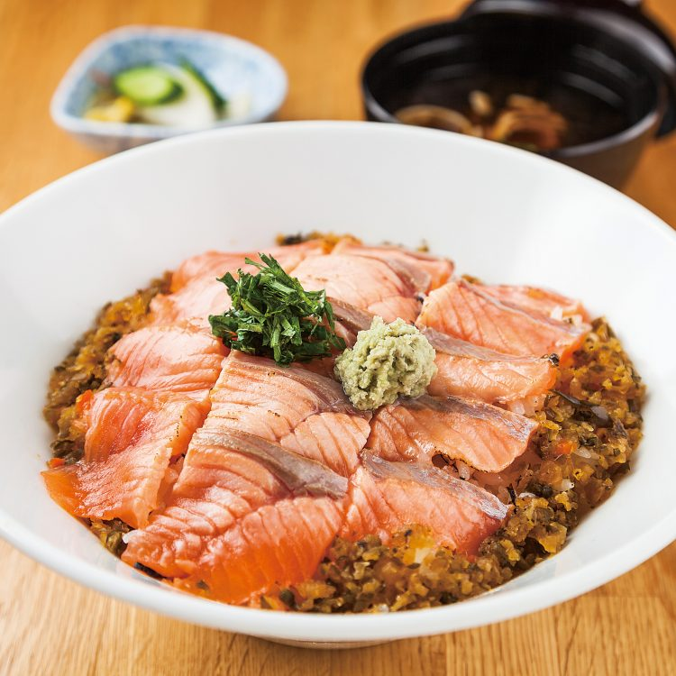 Roast Trout Donburi