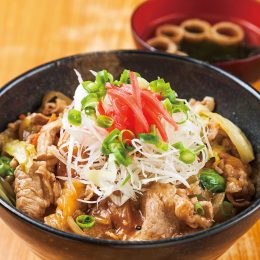 Pork and Miso Donburi