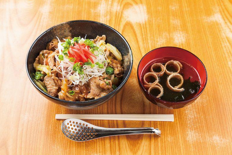 【2018】肉味噌丼