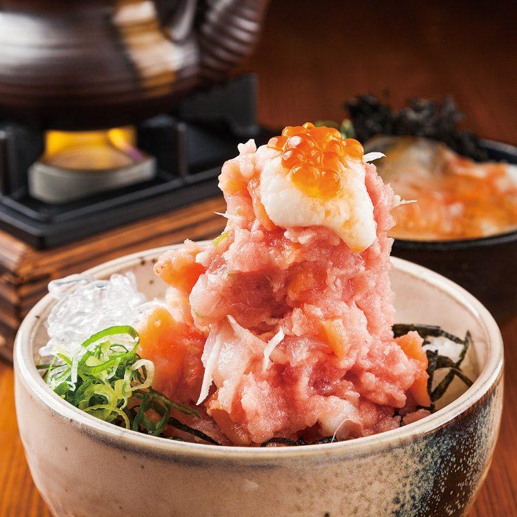 【2018】カチ盛海鮮丼&鯛茶漬け