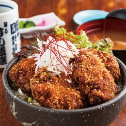 Tuna cutlet Donburi