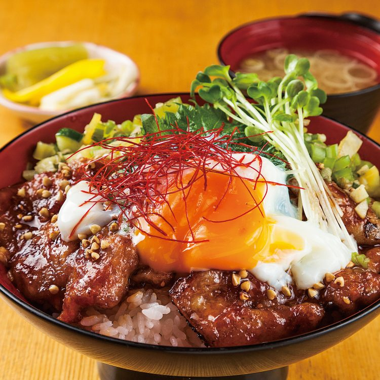 Pork yakiniku Donburi with …