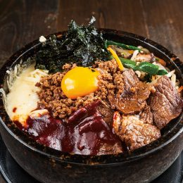Bibimbap with cheese and Ni…