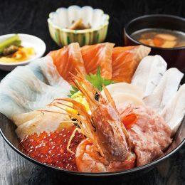 板長の気まぐれ海鮮丼