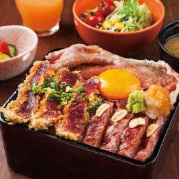 Beef cutlet Don with Beef s…