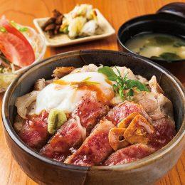 [:ja]新潟和牛A5サーロインと越後もち豚のコラボ 原価率60%超え!ユングの本気丼[:en]Yungu's Maji Don[:]