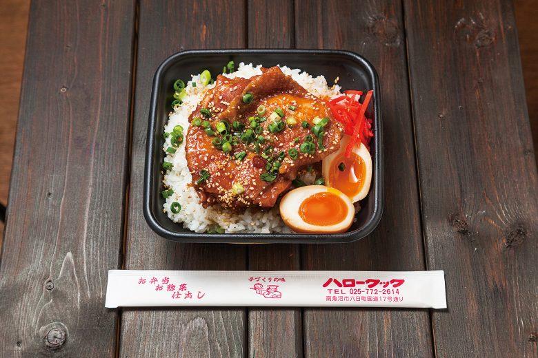 (日本語) 鶏の角煮弁当