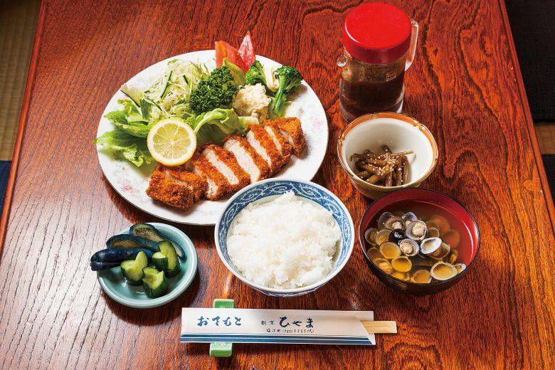 (日本語) 厚熱かつ定食