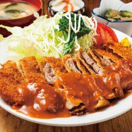 (日本語) 貫禄のデミグラスソース マンセの洋風カツ丼