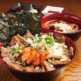(日本語) 極うま特上カルビ丼 ~特製クッパスープ付き…