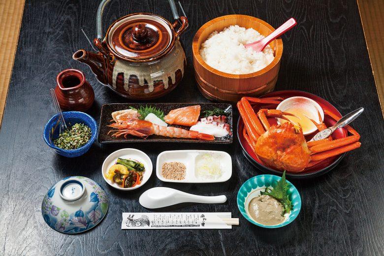 (日本語) 元祖!!かに味噌醤油!?で食べる…。 海鮮小茶碗で三杯丼