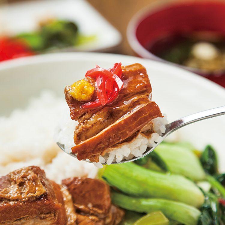 (日本語) 角煮丼