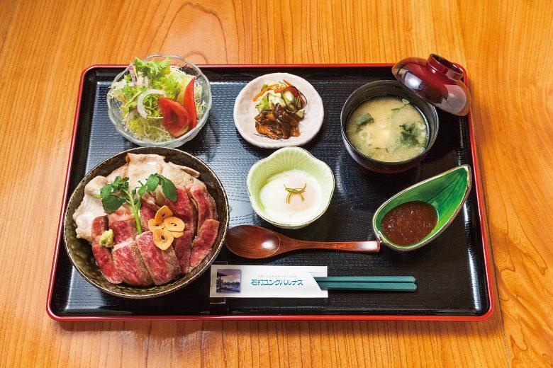 (日本語) にいがた和牛A5サーロインと越後もち豚のコラボ 原価率60%超え!ユングの本気丼