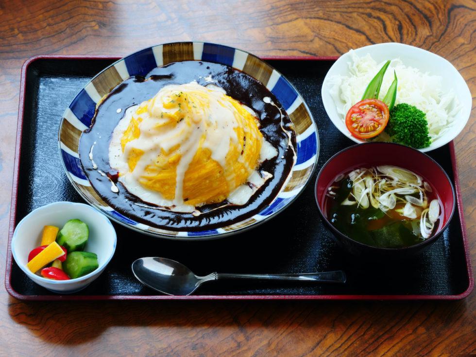 横浜仕込みのチーズオム