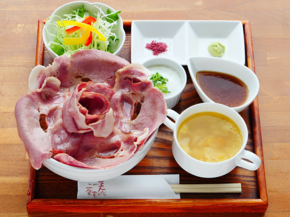 炙りローストポーク丼