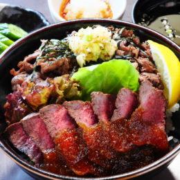 [:ja]レアステーキとネギ塩牛丼の本気[:]
