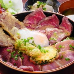 [:ja]3色のローストビーフ丼 ~ローストポークもそえて~[:]