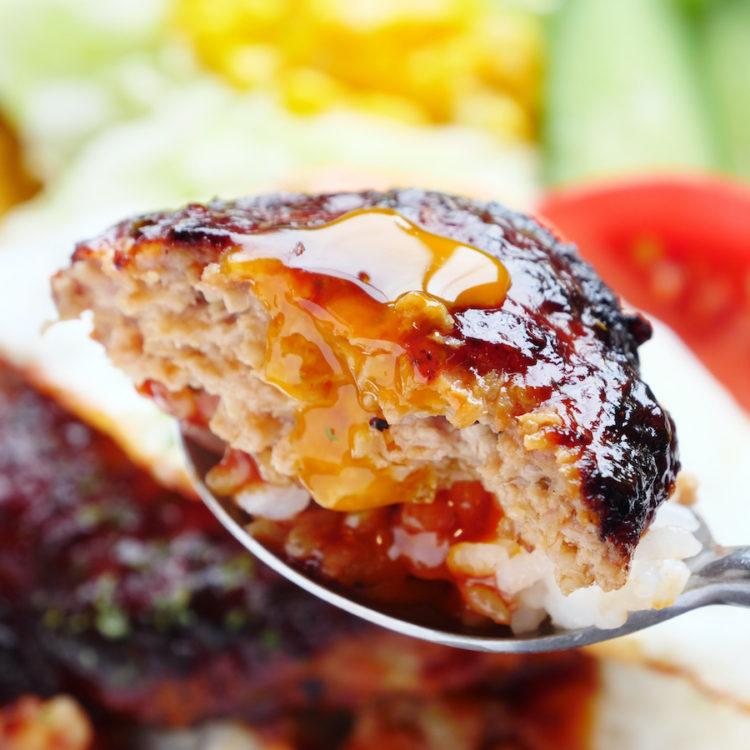肉汁ジューシーロコモコ丼