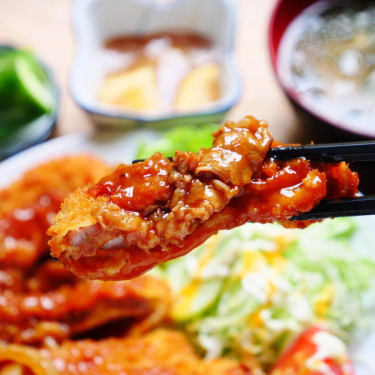 秘伝のハヤシソース マンセの洋風かつ丼