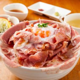 [:ja]炙りローストポーク丼[:]