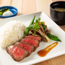 新潟和牛ステーキ丼