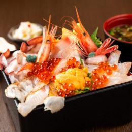 [:ja]炙りのどぐろと熟成魚の鮮極丼~佐渡からの贈り物~[:]