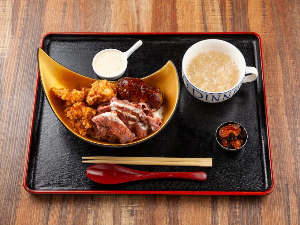 米の最上級×つばめの巣 金のやみつきコラボ丼